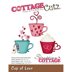 Cottage Cutz - Die - Cup Of Love