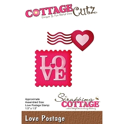 Cottage Cutz - Die - Love Postage