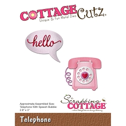 Cottage Cutz - Die - Telephone