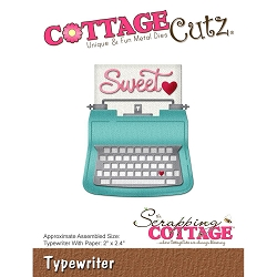 Cottage Cutz - Die - Typewriter
