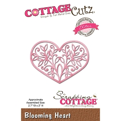 Cottage Cutz - Die - Blooming Heart Elites