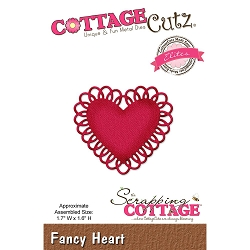 Cottage Cutz - Die - Fancy Heart Elites