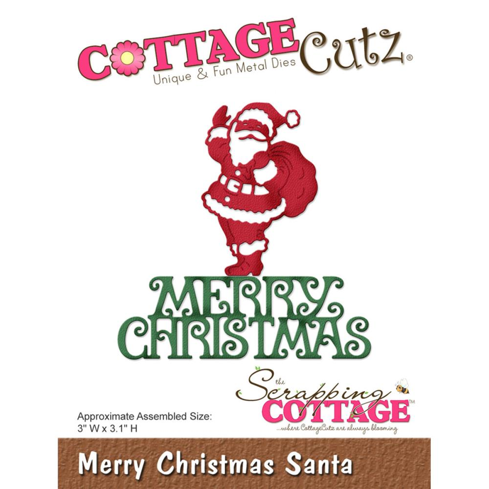 Cottage Cutz - July 2016 die release - Christmas