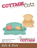 Cottage Cutz - Die - Sofa and Chair