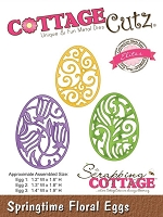 Cottage Cutz Word & Spring dies