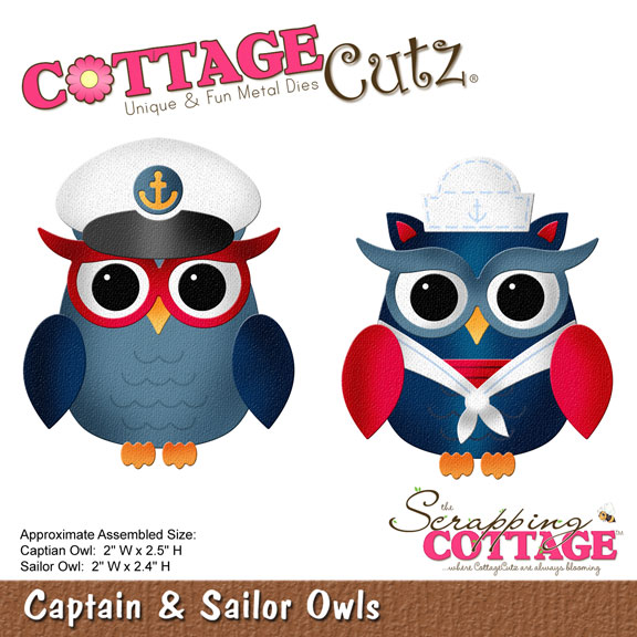 Cottage Cutz - Nautical die release