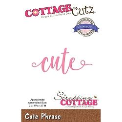 Cottage Cutz - Die - Cute
