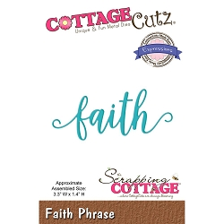 Cottage Cutz - Die - Faith