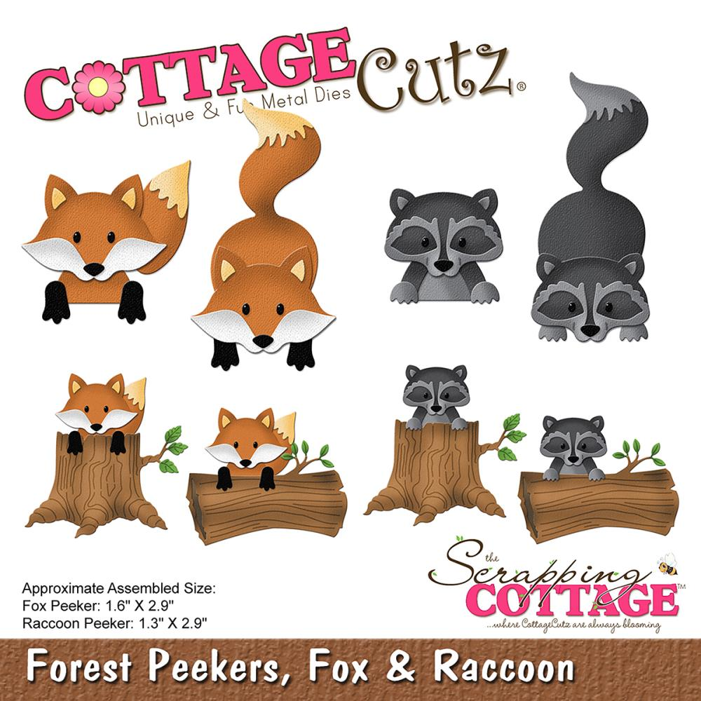 Cottage Cutz - Forest Friends die release