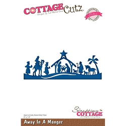 Cottage Cutz - Die - Away In A Manger (Elite)