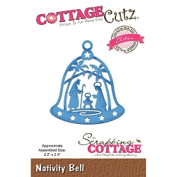Cottage Cutz - Die - Nativity Bell (Elite)
