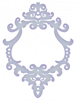 Couture Creations - Embossing Folder (A2) - Elegance Collecion - Marina