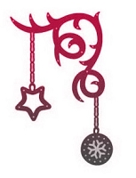 Couture Creation - Cutting Die - Magical Christmas Christmas Charms