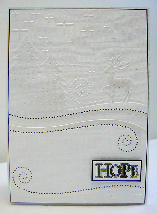 Wrapped In Joy embossing folders