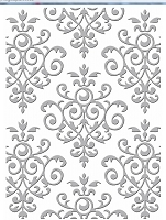 Craft Concepts - Embossing Folder - Lovingly Baroque