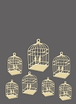 Craft Concepts -Embossing Folder-Caged Birds