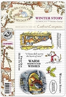 Brambly Hedge EZMount Stamp Set - Winter Story