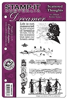 Stamp-It! Australia - Dreamer rubber stamps
