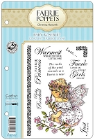 Faerie Poppets by Christine Haworth - EZMount Cling Stamp Set - Baby Rosebud