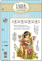 Faerie Poppets by Christine Haworth - EZMount Cling Stamp Set - Strawberry Patch