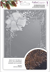 Crafter's Companion - 3D Embossing Folder Ring out the Bells
