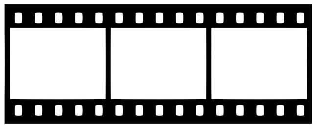 Image gallery movie reel template for Film strip picture template