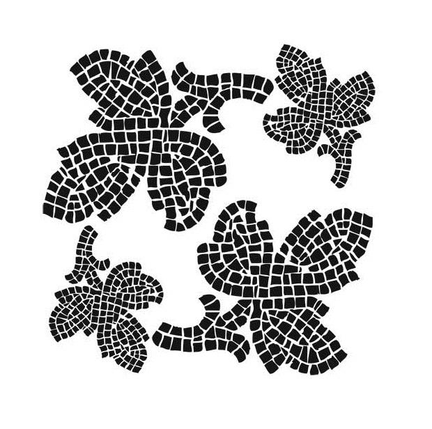 Трафареты для мозаики своими руками шаблоны 1166