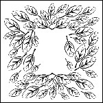 The Crafters Workshop-12x12 Template-Leaf Frame