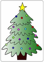 Crafts Too-Dutch Embossing Folder-Christmas Tree  (A2 size)