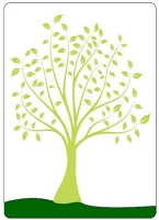 Crafts Too-Dutch Embossing Folder-Leafy Tree  (A2 size)