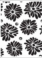 Crafts Too-Dutch Embossing Folder-Flowers (A2 size)