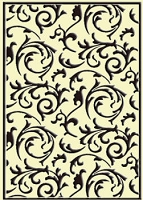 Crafts Too-Embossing Folder-Scrollworks  (A2 size)