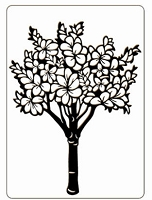 Crafts Too-Embossing Folder-Floral Tree (A2 size)