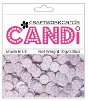 Candi Embellishments - Love Parade - Candy Floss