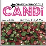 Candi Embellishments - Vintage Berries Gold