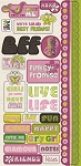 Crate Paper-Bliss-Title Stickers