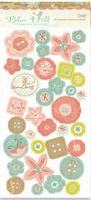 Crate Paper-Blue Hill-Chipboard Buttons