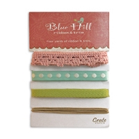Crate Paper-Blue Hill-Ribbons & Trims