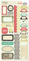 Crate Paper - DIY Shop Collection - 6x12 Accent Stickers