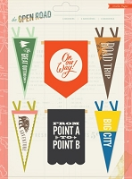 Crate Paper - The Open Road Collection - Felt Banners