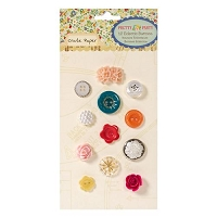 Crate Paper - Pretty Party - Mixed Buttons