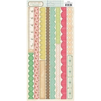 Crate Paper - Pretty Party - Border Stickers 6