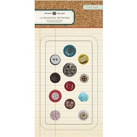 Crate Paper - Story Teller - Eclectic Buttons