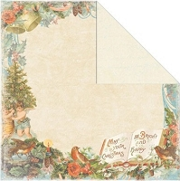Creative Imaginations - Rejoice Collection - 12x12 Double Sided Paper - Merry & Bright