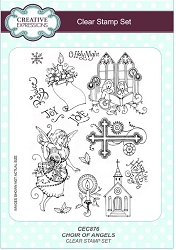 Creative Expressions - Clear Stamp - Choir of Angels