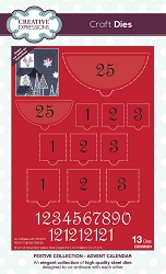 Creative Expressions - Die - Festive Collection - Advent Calendar