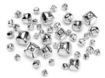 Darice-Jingle Bells-Value Assortment Silver