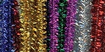 Darice-6mm Chenille Stems-Tinsel Multi Color