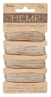 Darice-Hemp Cord-10# Natural