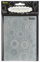 Darice-Embossing Folder- (Size A2) - Steam Punk